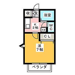 ACANTHUS[1階]の間取り