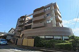 滋賀県大津市萱野浦の賃貸マンションの外観