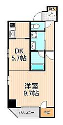 メインステージ浅草橋II[9階]の間取り