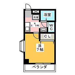 エイトIII[2階]の間取り