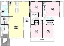 建物プラン例 建物価格1458万円(税込)、建物面積104.26?
