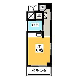 アーバンライフ新栄[3階]の間取り