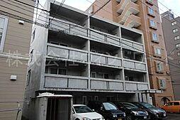 北海道札幌市中央区北五条西22丁目の賃貸マンションの外観