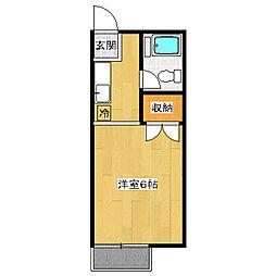 ハイツネリマ[2階]の間取り