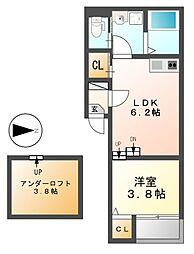 STELLA FISSA御器所(ステラフィッサ)[1階]の間取り