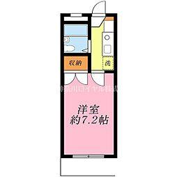 エース二俣川[103号室]の間取り