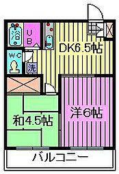 FSK日進ビル[402号室]の間取り
