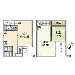 [一戸建] 埼玉県さいたま市桜区西堀7丁目 の賃貸【/】の間取り