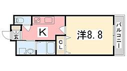 アーバンレジデンス東加古川[406号室]の間取り