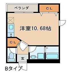 EXIA Daiku[B号室]の間取り