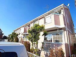 千葉県我孫子市岡発戸の賃貸アパートの外観