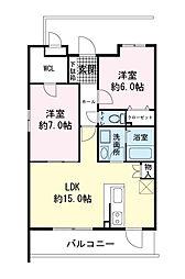 (仮)青島マンション[0402号室]の間取り