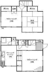 [一戸建] 東京都杉並区松庵3丁目 の賃貸【/】の間取り