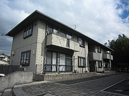 愛媛県松山市東野6丁目の賃貸アパートの外観