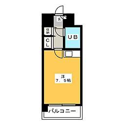ステイタスマンション博多駅前[10階]の間取り