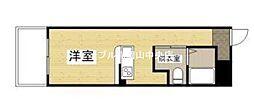 ZEUS岡山北[3階]の間取り