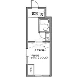 ロイヤルマンション松田[1階]の間取り