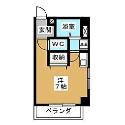 第2コ−ポオオタニ[4階]の間取り
