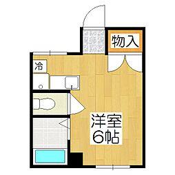 ハウス50[3-H号室]の間取り