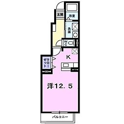 アバンツァ−ト社台[0103号室]の間取り