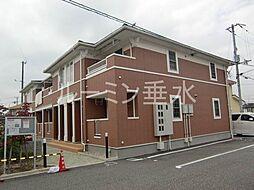 兵庫県加東市木梨の賃貸アパートの外観