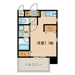 nextage sakurayama[5階]の間取り