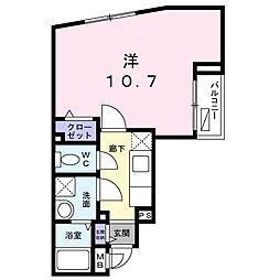 エテルナ オクト[203号室]の間取り