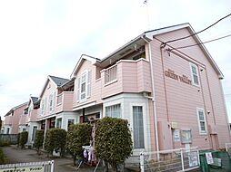 東京都あきる野市山田の賃貸アパートの外観