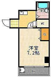 ルシエール四ノ宮[3階]の間取り
