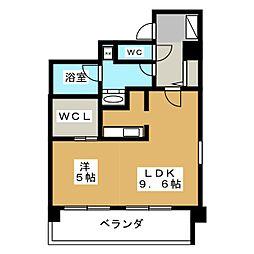 メゾン ド オーキッド[6階]の間取り