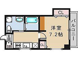 リバーライズ東小橋II[306号室]の間取り