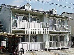 愛知県名古屋市瑞穂区白砂町4丁目の賃貸アパートの外観