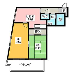 MOWAビル[7階]の間取り
