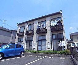 京都府京田辺市田辺波風の賃貸アパートの外観
