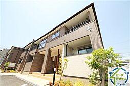 兵庫県神戸市西区伊川谷町有瀬の賃貸アパートの外観