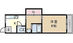 第二武田マンション[3階]の間取り