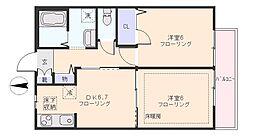 シャーメゾン高松I[0103号室]の間取り
