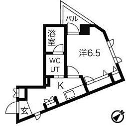 新宿ヤマトビル[504号室号室]の間取り