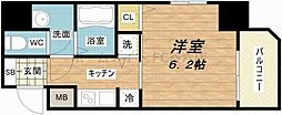 S-RESIDENCE緑橋駅前[1階]の間取り