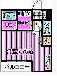 (仮)フラッツ蔵ANNEX南館[1階]の間取り