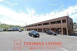 福岡県北九州市八幡西区馬場山原の賃貸アパートの外観