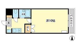兵庫県姫路市広畑区末広町1丁目の賃貸マンションの間取り