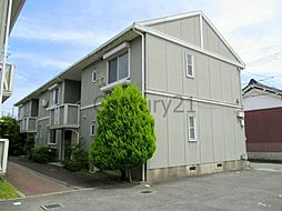 兵庫県川西市下財町の賃貸アパートの外観