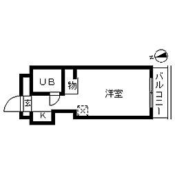TOP・曳舟第1[0409号室]の間取り