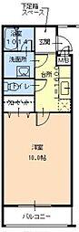 浜寺石津ハナハウス[3階]の間取り