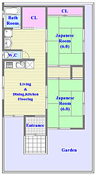 [一戸建] 兵庫県神戸市垂水区星が丘3丁目 の賃貸【兵庫県 / 神戸市垂水区】の間取り