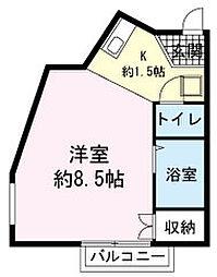 フラット・リット・シライ[3階]の間取り