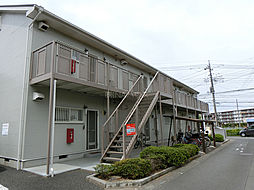埼玉県上尾市本町6丁目の賃貸アパートの外観