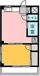 イケダハイム[203号室]の間取り