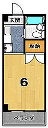 ソワリエマエグチ[3階]の間取り